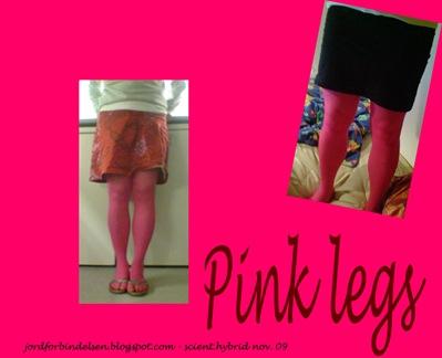 pink legs nov 09