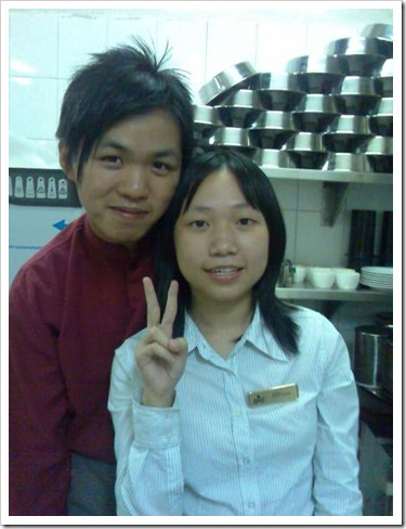 Ah Fai & Me in Main Kitchen