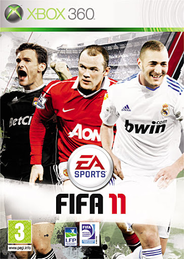 FIFA 11 - Capa Francesa