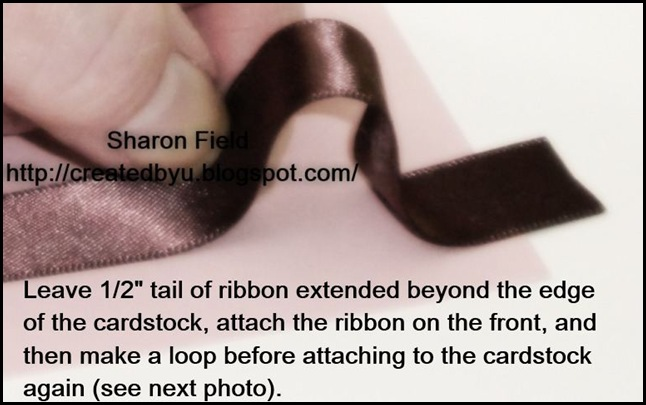 Scrunch Ribbon Step3