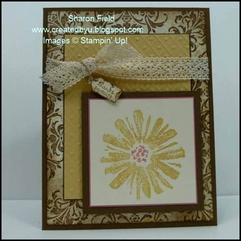 DCBD226, by Sharon Field, Love & Care. Hostess Level 2 Stamp Set, Created by You