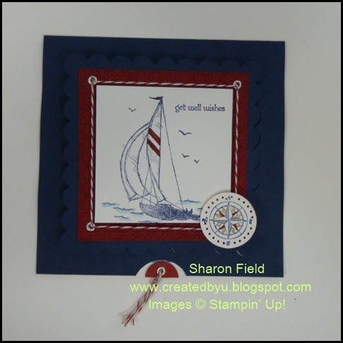 Cards That Move, Classes, Events, Sail Away, Created By You, Sharon Field, Super Saturday Tutorial