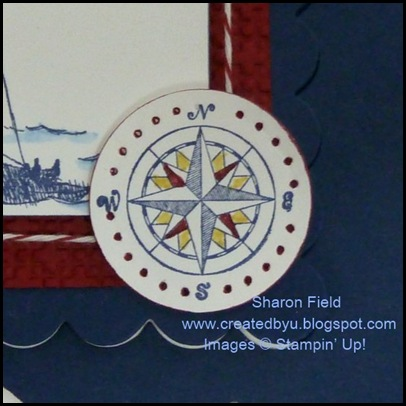 nautilus compass, scallop square easel by sharon field