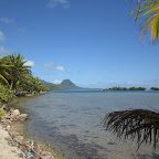Bucht in Huahine