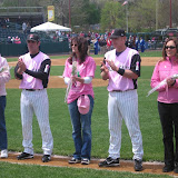 2007 May Pink in the Park Day at Rock Cats Stadium