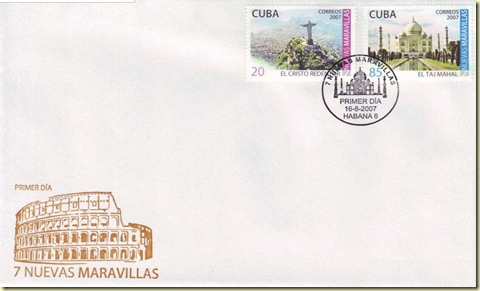 Cuba 2007 FDC