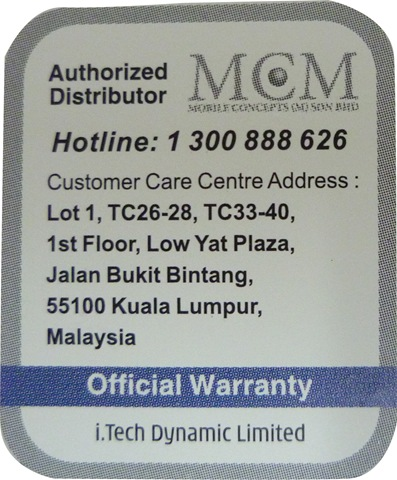 Authorized Distributor sticker