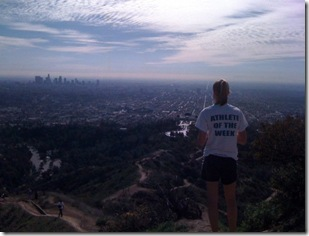 Emily at Griffith Park