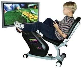 O sedentarismo nos videogames