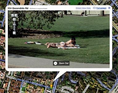 Google street vendo demais...