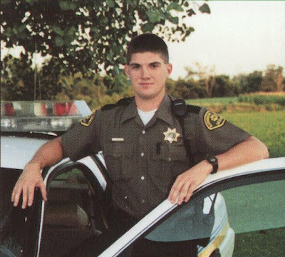 Newly named Chief Deputy Jared Schneider (Washington County Sheriff's Office)