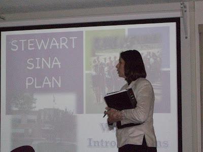 Stewart Principal Rhoda Harris Presents her school's SINA Plan