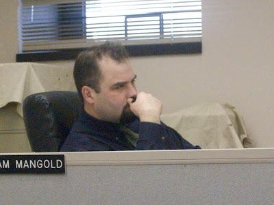 Washington County Supervisor Adam Mangold