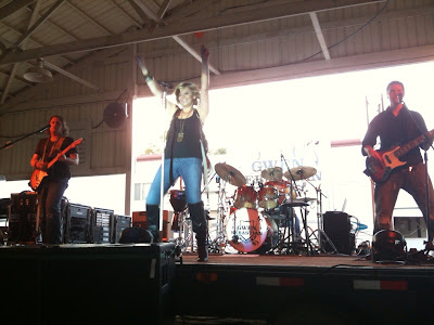 Gwen Sebastian In Concert At The Washington County Fair.