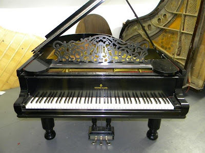 Washington's library will soon have an 1888 Steinway Model A grand piano as shown above.<br />