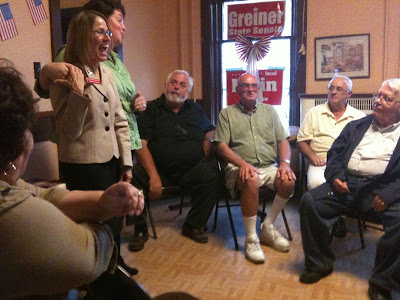 Mariannette Miller-Meeks Was At Washignton's GOP Headquarters Yesterday.<br /> (KCII's Chance Dorland)