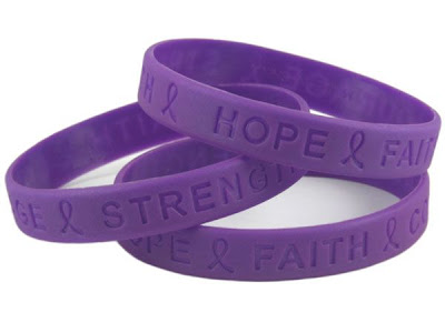 Domestic Violence Awareness Wristbands Are Now Being Sold.<br />