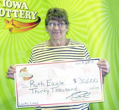 Courtesy:  Iowa Lottery