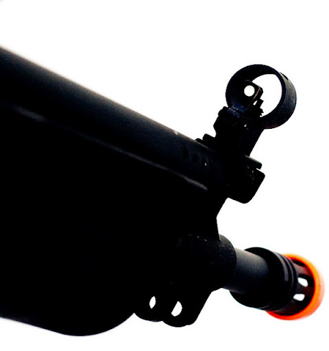 Airsoft Guns,cybergun, galil sar, airsoft aeg, pyramyd air, front sight