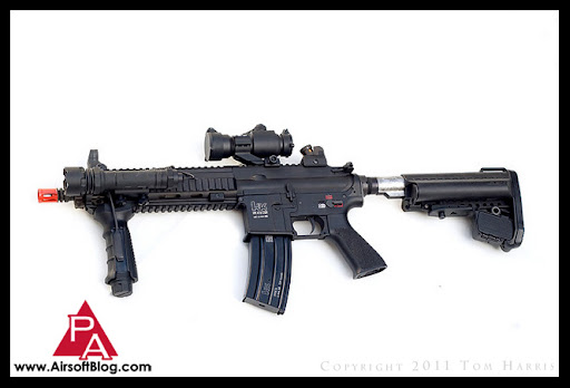 Airsoft Guns, VFC HK416 CQB, Upgraded AEG, Custom Airsoft Guns, Pyramyd Air
