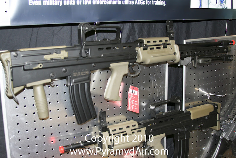 Airsoft Guns, ICS, Shot Show 2011 News Updates, Shot Show 2011 ICS Booth, ICS L86 Airsoft support weapon, Airsoft Squad Support Weapon,Airsoft Automatic Electric Guns, Airsoft machine gun,Airsoft AEG, Airsoft L86,Pyramyd Air, Pyramyd Airsoft Blog, Airsoft Obsessed, Airsoft Blog