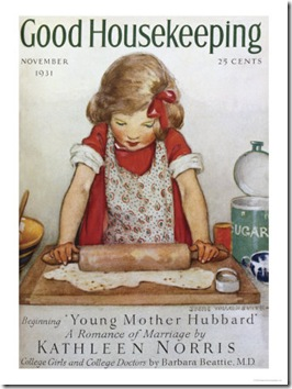 good housekeeping, child baking