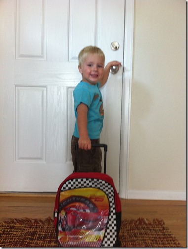 1st day of preschool for 2010
