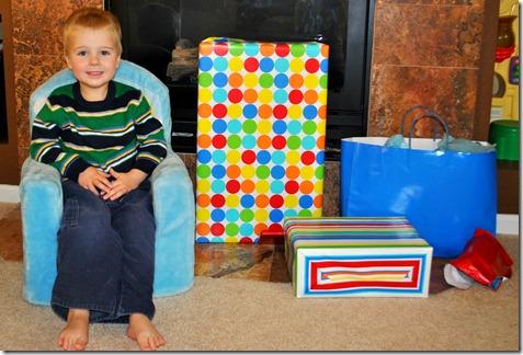 Josh and his presents