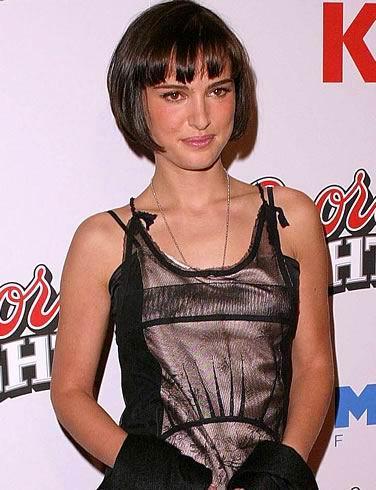 natalie portman short hair picture 2010