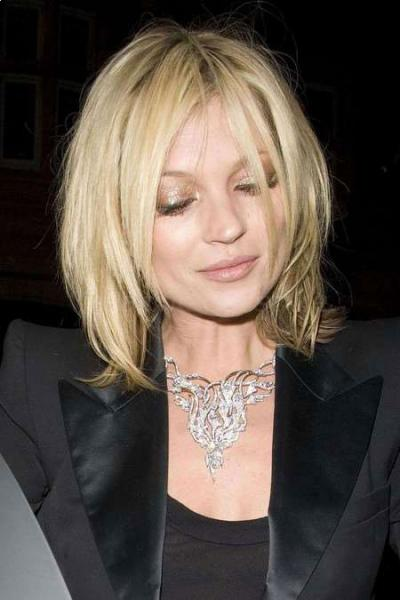 Layered Haircuts-Kate Moss