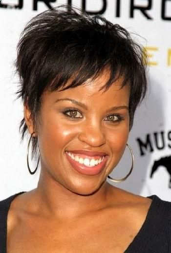 Trendy Simple African-American Short hairstyle picture