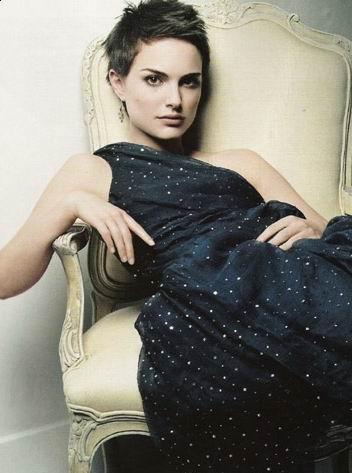 Natalie Portman Short Hairstyle picture