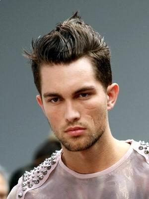 how to get this cool mens hairstyle? A fun way to style hair is to gel