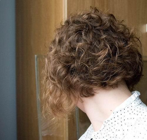 Short Curly Layered Hairstyles image