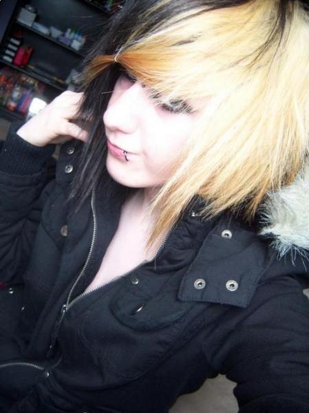 scene hair 2010