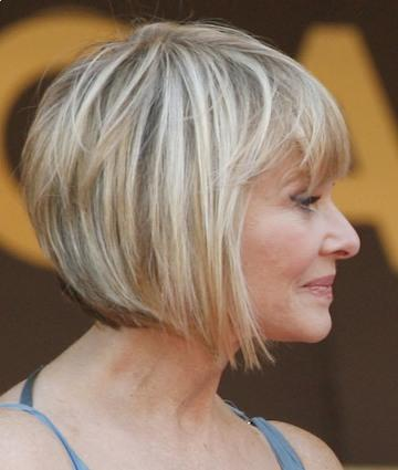 Short Hairstyles for Older Women