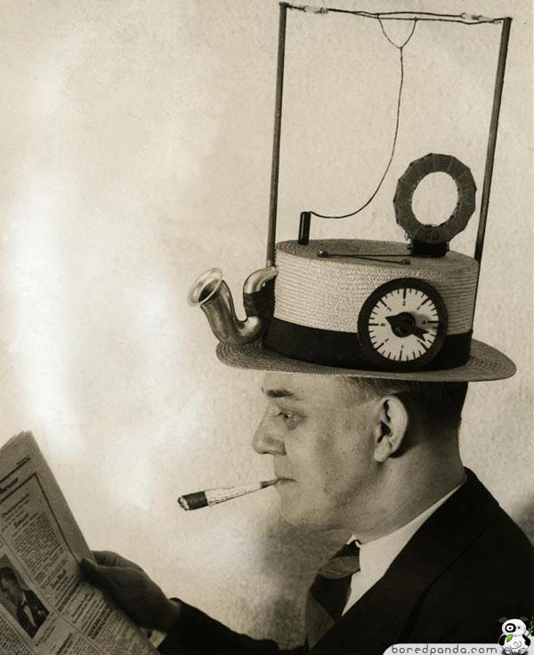 cool inventions hat radio 10 invenções do passado que não deram certo