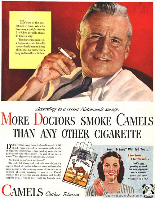 los anuncios más increibles... Vintage-Ads-Doctors