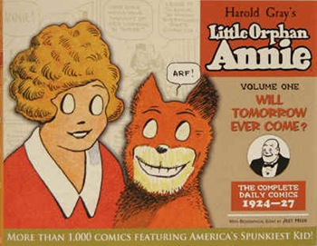 aNNIE COMIC STRIP