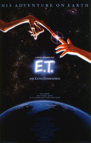 ET The Extraterrestrial movie poster