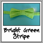 bright green stripe