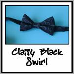 classy black swirl
