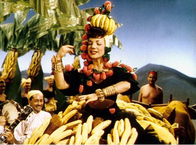 Carmen MIranda in THE GANG'S ALL HERE (1943), directed by Busby Berkeley.