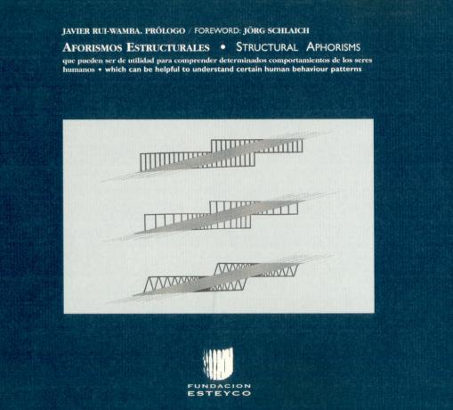 Aforismos estruturais, por Javier Rui-Wamba