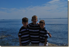 boys at breakwater