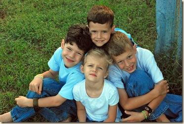 best 4 kids in grass