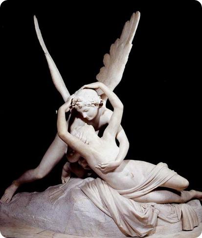 6C- Antonio-Canova-Psiche-rianimata-dal-bacio-di-amore-1793-Parigi-Louvre