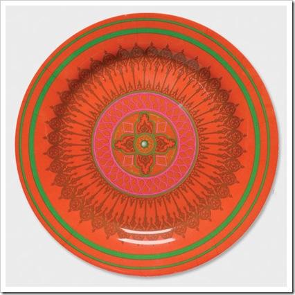 winchester orange plate