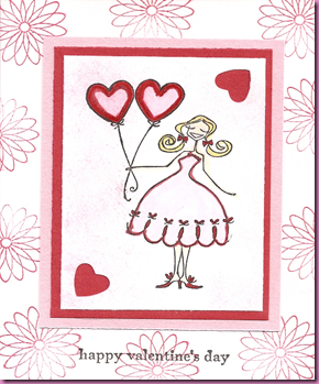 Peggy Bella Valentine Card
