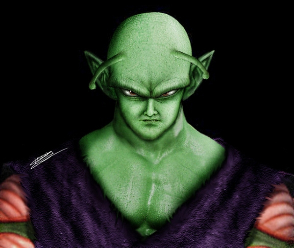 Realistic Dragon Ball Z Piccolo